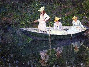 La barque à Giverny