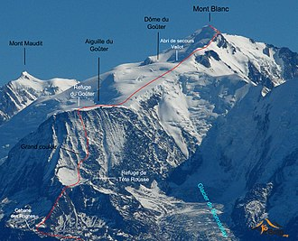 Goûter Route - Mont Blanc - Goûter route