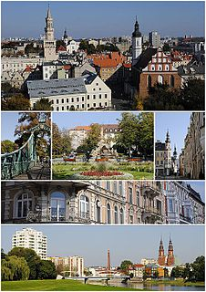 Opole Place in Poland