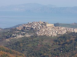 Montalbano Elicona and the castle of Frederick II