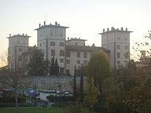 La Villa medicea dell'Ambrogiana di Montelupo Fiorentino (FI), sede dell'OPG.