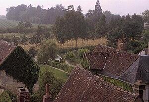 Montrésor - View over Montrésor, 1981