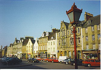 Montrose, Angus - Montrose high street, circa 1980