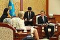 Moon Jae-in and Princess Astrid of Belgium at Cheongwadae (1).jpg