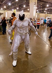 Moon Knight cosplay 2013.jpg