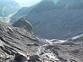Moraines and debris below Nisqually Glacier (c3a9885b1f7d464fa8df950f6c8fadd4).JPG