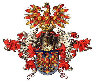 Margraviate of Moravia - Unnoficial coat of arms of Moravia by Hugo Gerard Ströhl