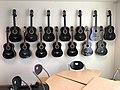 Morgan hand-crafted guitars at Sagvåg skule primary school in Stord, Norway, photo 2018-03-06 IMG 5680.jpg