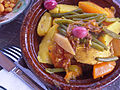 Moroccan food and drink - tajine (5368126576).jpg