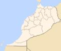 Morocco regions, blank.png
