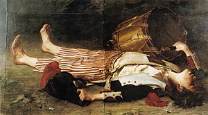 Drummer (military) - Death of Joseph Bara by Charles Moreau-Vauthier.