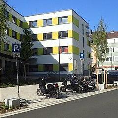 Motorradparkplatz Schweinfurt Hadergasse