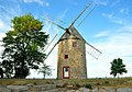 Moulin à vent de Pointe-du-Moulin - Lateral.JPG