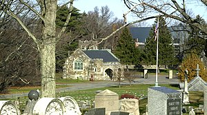 Mount Hope Cemetery (Boston) - Image: Mount Hope Cemetery Boston MA 01
