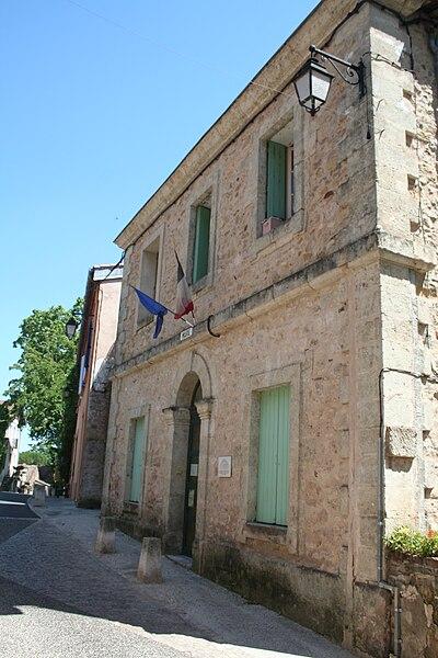 Mourèze (Hérault) - mairie.