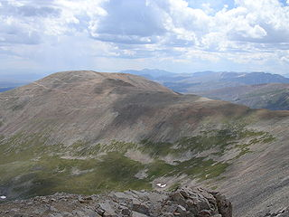 Mount Bross mountain in United States of America