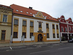 Municipal office in Moravské Budějovice, Třebíč District.JPG