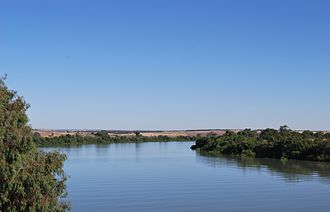 Murray River - Lower course of the Murray River at Murray Bridge