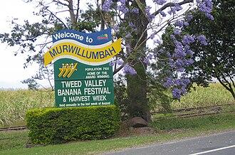 Murwillumbah - Murwillumbah sign