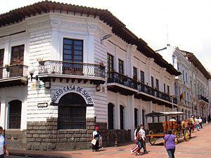 Museos de quito museo de la defensa casa de sucre - Casas en quito ecuador ...