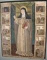 Museo regionale di messina, giovannello da italia, santa chiara, storie della sua vita e annunciazion.JPG