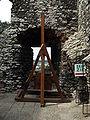 Museum in Ogrodzieniec Castle - catapult 02.JPG