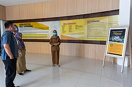 Museum of Deli Serdang site visit by Wikimedia Indonesia; January 2020 (01).jpg