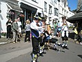 Musicians accompanying the Morris Dancing at Dunster - geograph.org.uk - 925192.jpg