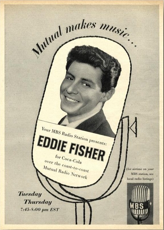 Mutual Broadcasting System - Eddie Fisher 1954a