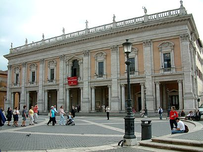 Come arrivare a Palazzo Dei Conservatori con i mezzi pubblici - Informazioni sul luogo
