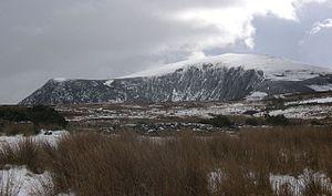 Mynydd Mawr - Mynydd Mawr from the north, showing the 'elephant's' head and back