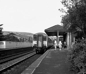 Mytholmroyd railway station - Image: Mytholmroyd station geograph.org.uk 660879