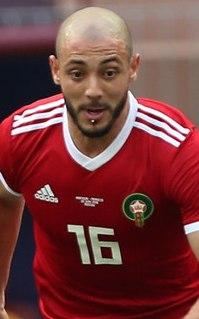 Nordin Amrabat Moroccan footballer