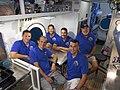NASA NEEMO 22 Aquanaut Crew inside.jpg