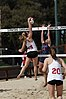NCAA beach volleyball match at Stanford in 2017 (33276063962).jpg