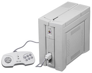 PC-FX home video game console released by NEC in 1994