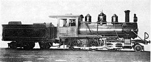 NGR Class I 2-6-0 - Zululand Railway Company no. 2, c. 1902