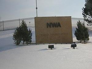 Eagan, Minnesota - Northwest Airlines headquarters in Eagan