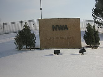Eagan, Minnesota - Northwest Airlines headquarters in Eagan