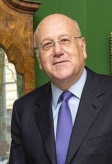 Najib Mikati Prime Minister of Lebanon