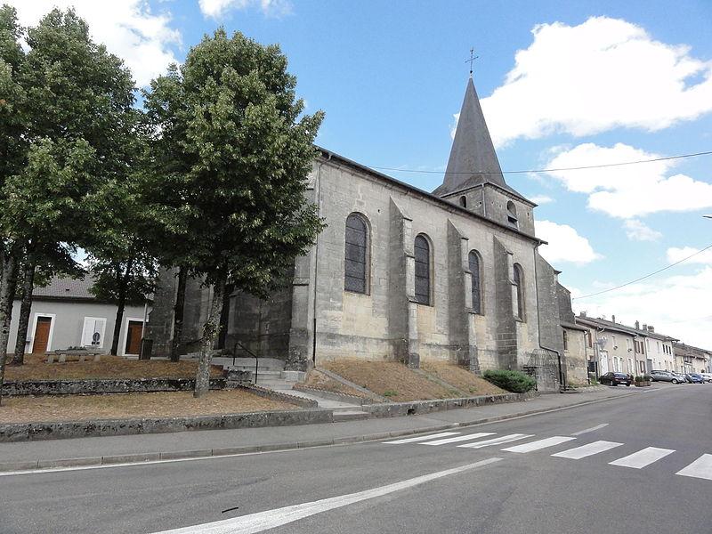 Nançois-sur-Ornain (Meuse) église