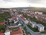 Napajedla, Komenského, letecký pohled.jpg