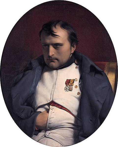 File:Napoleon at Fontainebleau, 31 March 1814 by Paul Hippolyte Delaroche (Paris 1797-1856).jpg