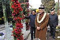 Narendra Modi inaugurates the orchid display and seasonal flowers exhibition, in Gangtok. The Governor of Sikkim, Shri Shriniwas Dadasaheb Patil, the Chief Minister of Sikkim.jpg