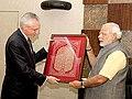 Narendra Modi with Italian envoy Daniele Mancini.jpg