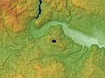 Naruko Caldera Relief Map, SRTM-1.jpg