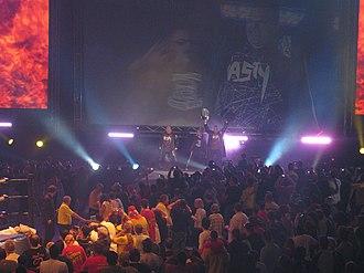 The Nasty Boys - The Nasty Boys performing their entrance.
