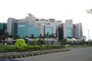 National Stock Exchange of India - NSE building at BKC, Mumbai