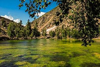Naltar lakes - Image: Natlar Lake or Bashkiri Lake 1