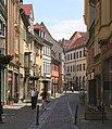 Naumburg Fußgängerzone historische Altstadt Foto Wolfgang Pehlemann Wiesbaden DSCN2538.jpg